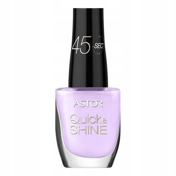 Astor Quick & Shine 524 Lazy Lilac lakier do p
