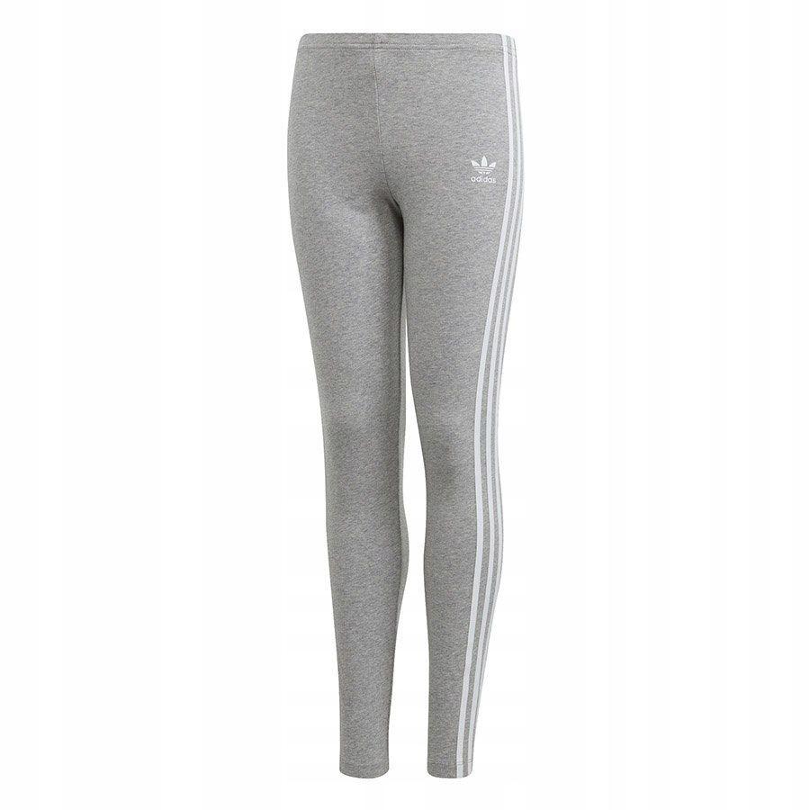Legginsy Spodnie dla dziewczyn adidas bawełna 140