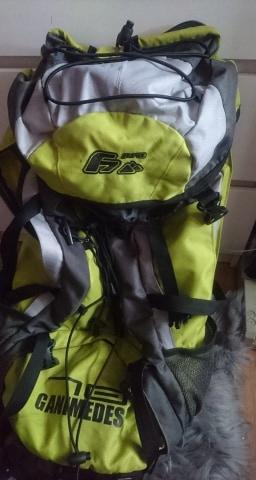 Plecak GANIMEDES + pokrowiec RAINCOVER 60 L