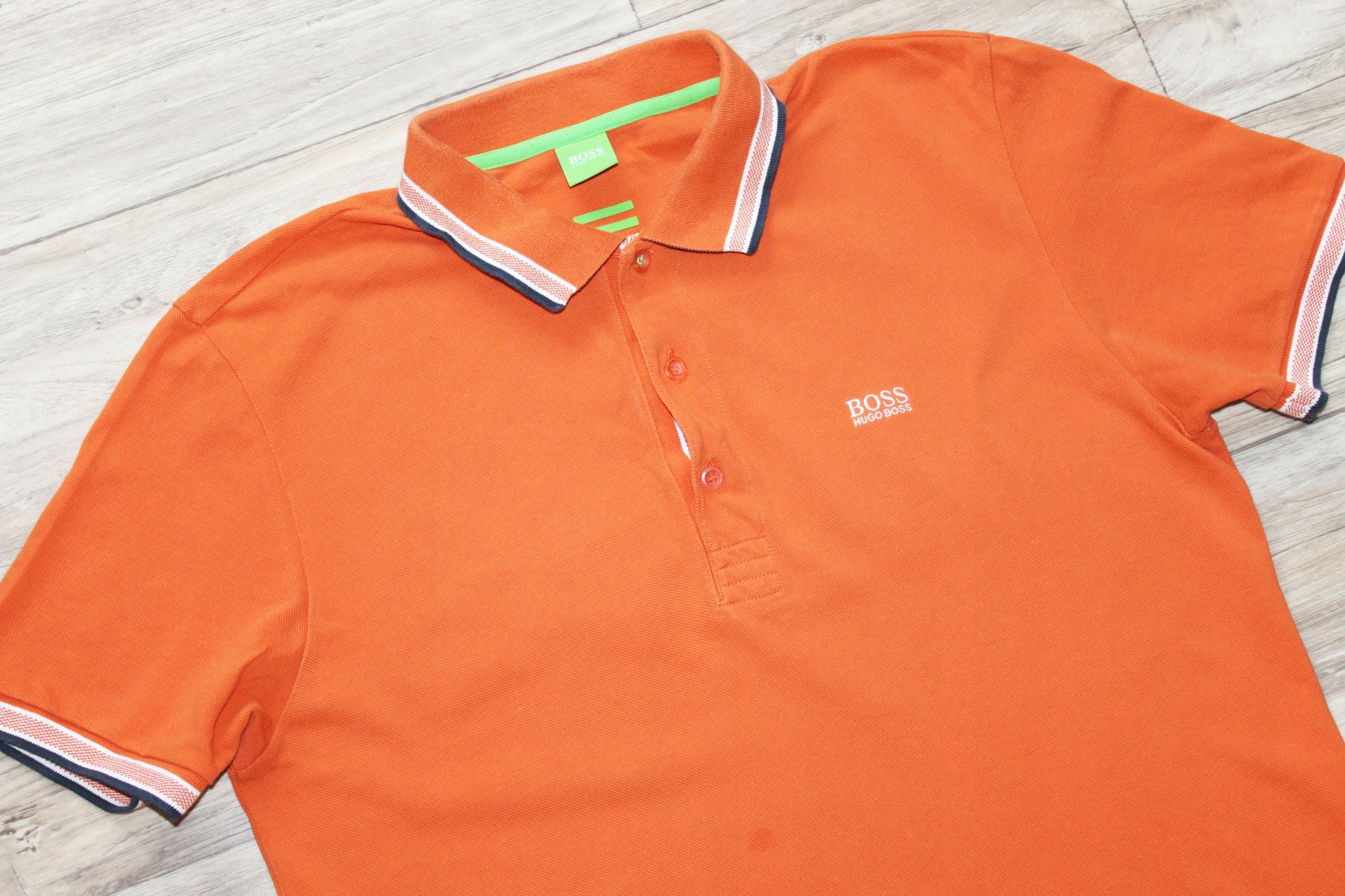 Koszulka Bluzka polo męska HUGO BOSS L bdb
