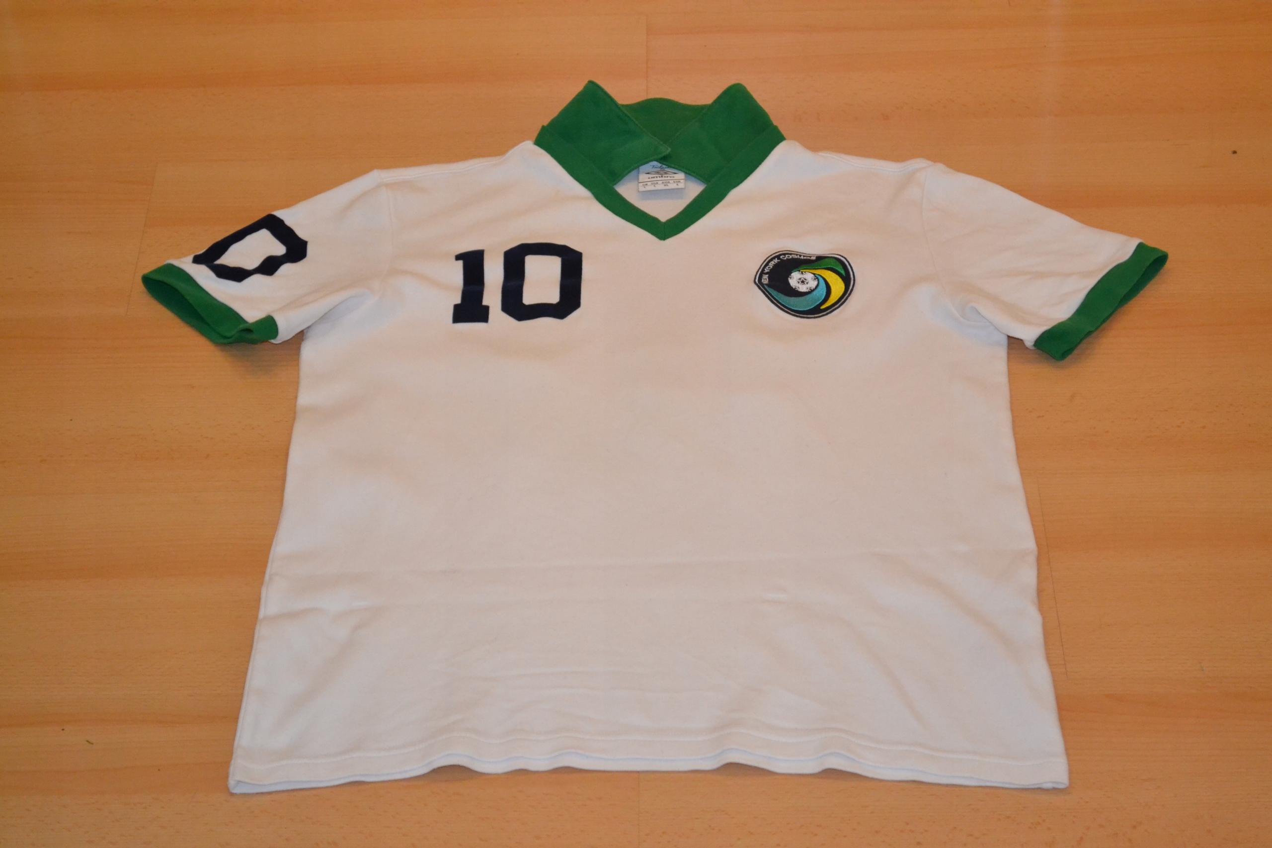 2011-12 New York Cosmos Umbro 1977 Pele