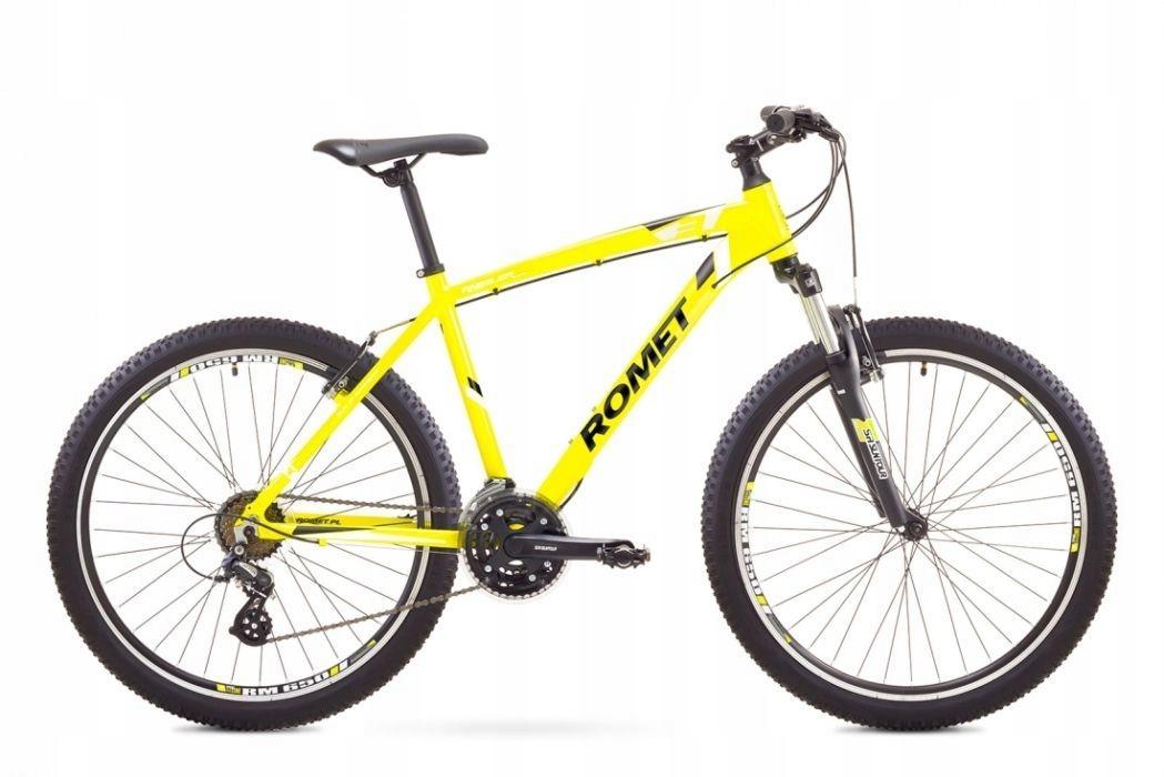 ROWER Górski MTB Rambler 3.0 26 Żółto Biały R20