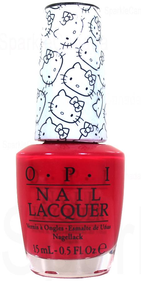 OPI lakier Hello Kitty 5 Apples Tall NLH89