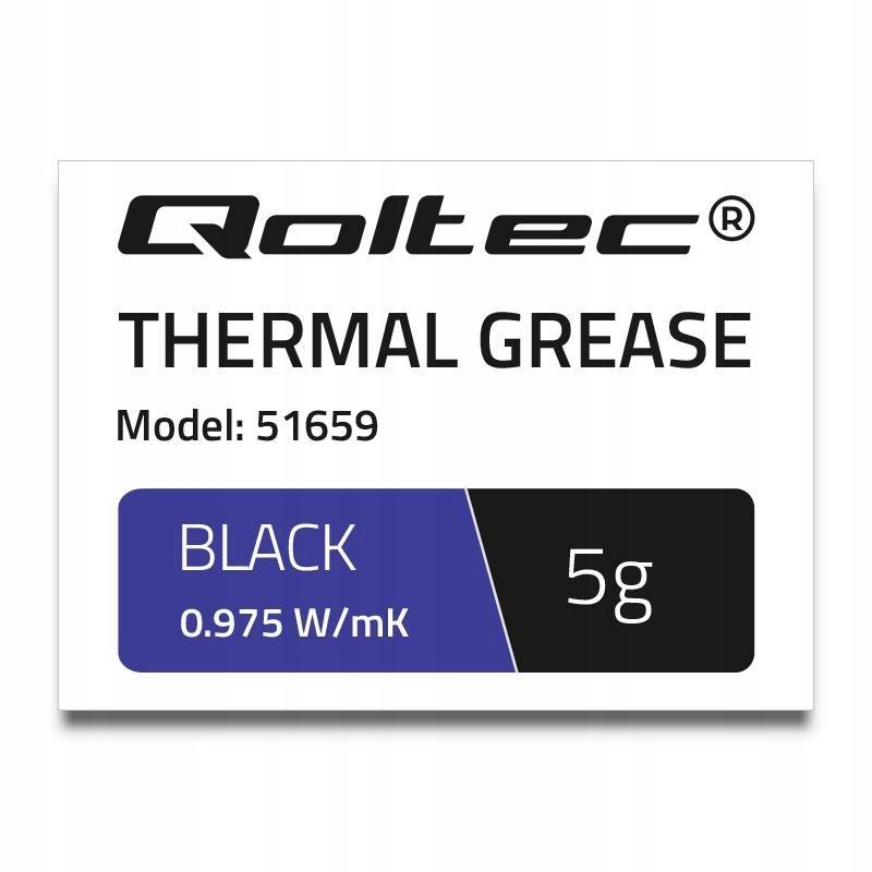 Klej termoprzewodzący Qoltec 0.975 W/m-K | 5g | Bi
