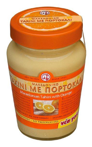 Pasta sezamowa tahini z pomarańczą 350g