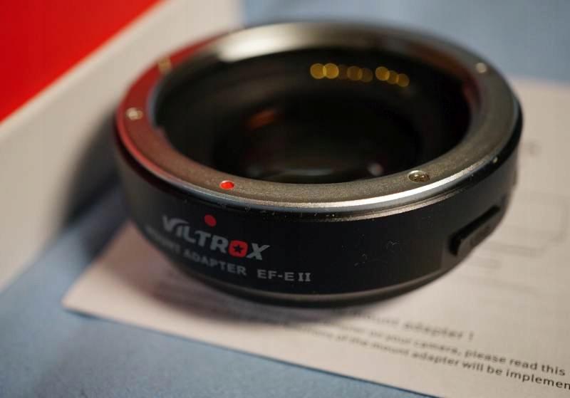 Viltrox Speed Booster EF E II Canon - Sony E