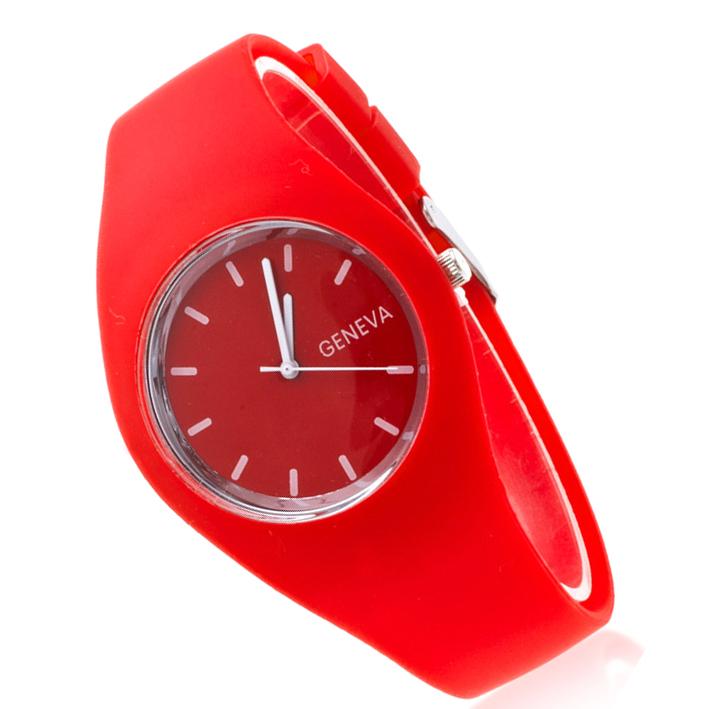 Zegarek Gumowy Jelly Żelowy Popularny Elasytczny