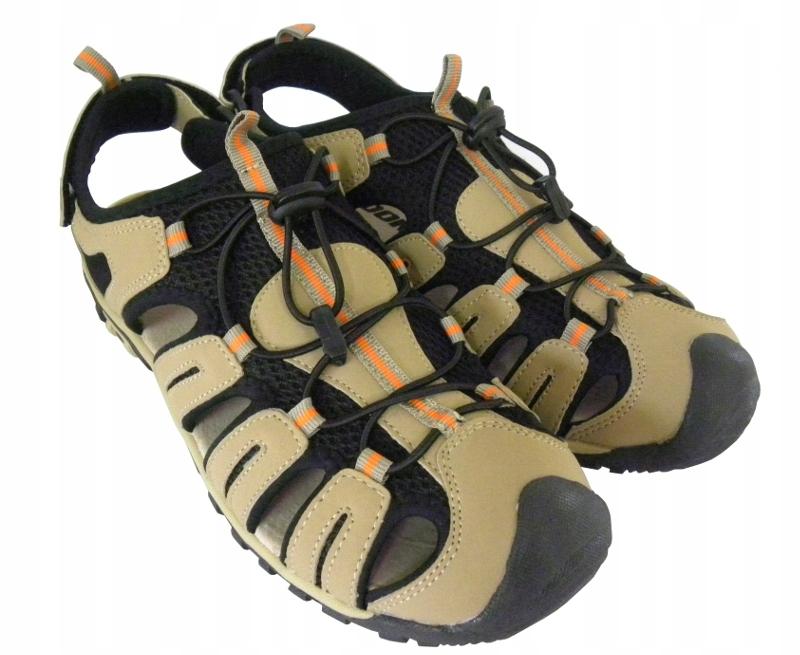 Lekkie sandały SAND trekkingowe skóra nubuk '38