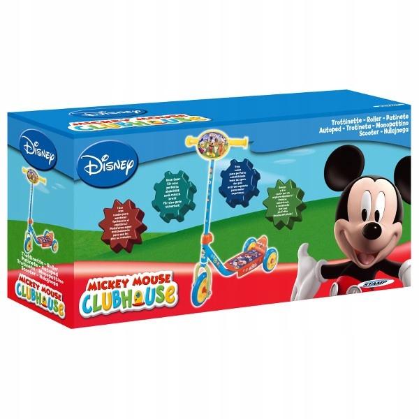 PULIO STAMP Hulajnoga 3 kołowa Mickey