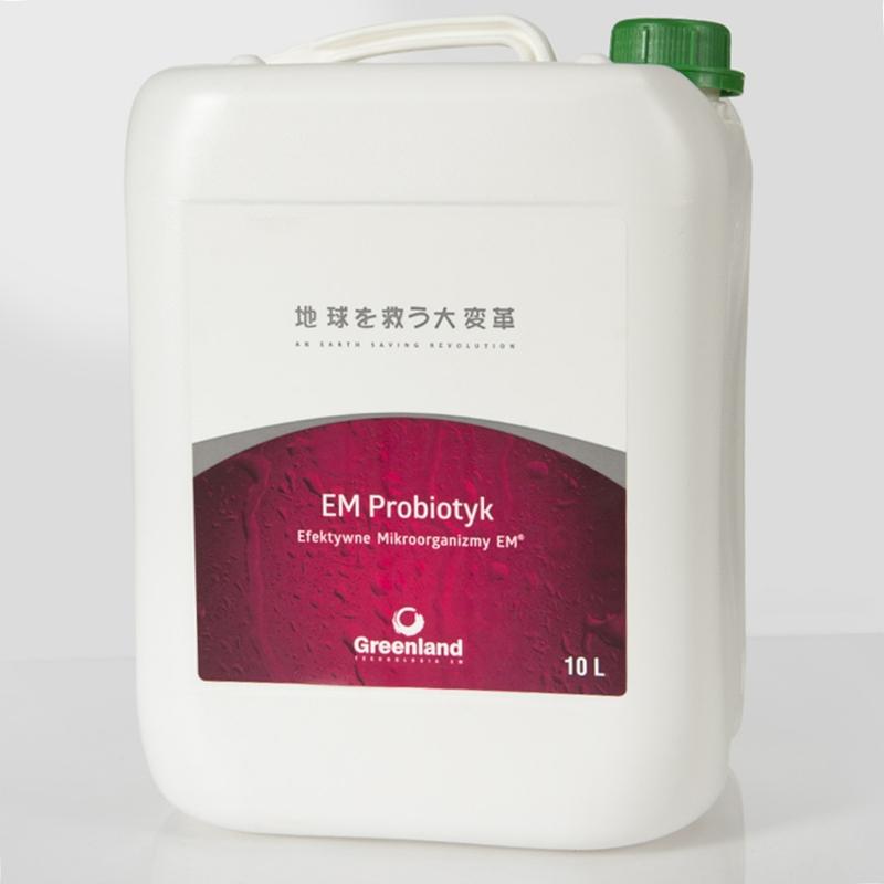 EM Probiotyk Efektywne Mikroorganizmy 10l