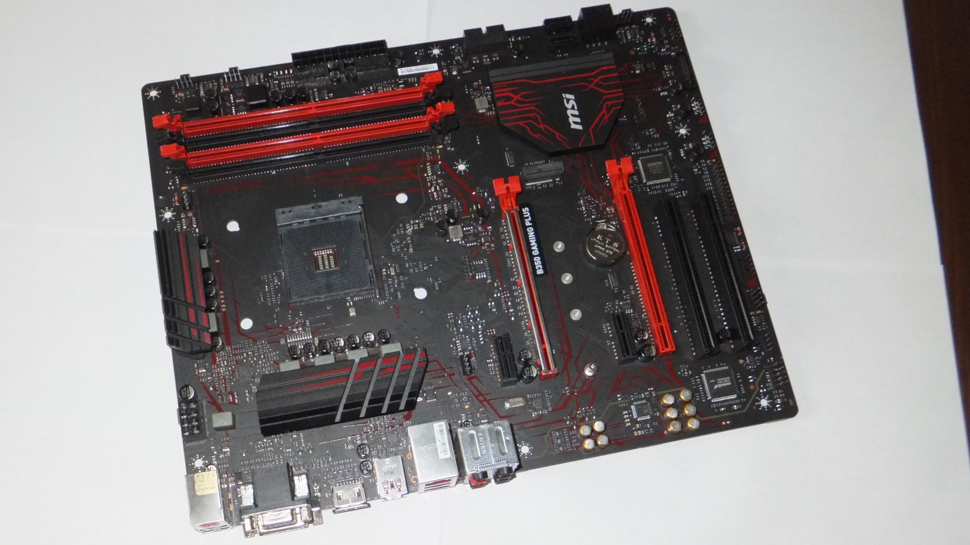 MSI B350 GAMING PLUS AM4 DDR4 PCIe GWARANCJA