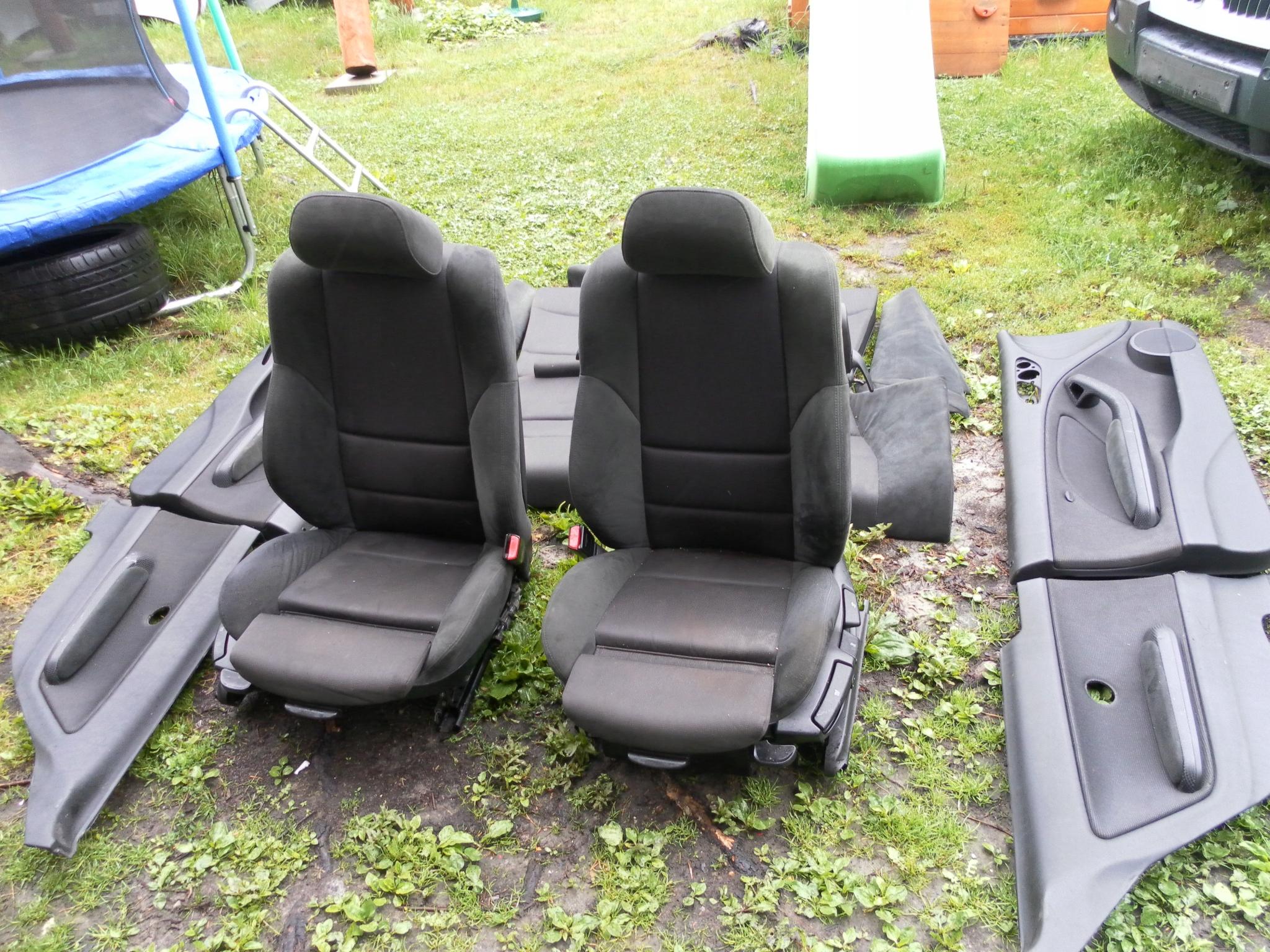 Fotele Bmw E46 Coupe Alcantara M Pakiet 7896481455