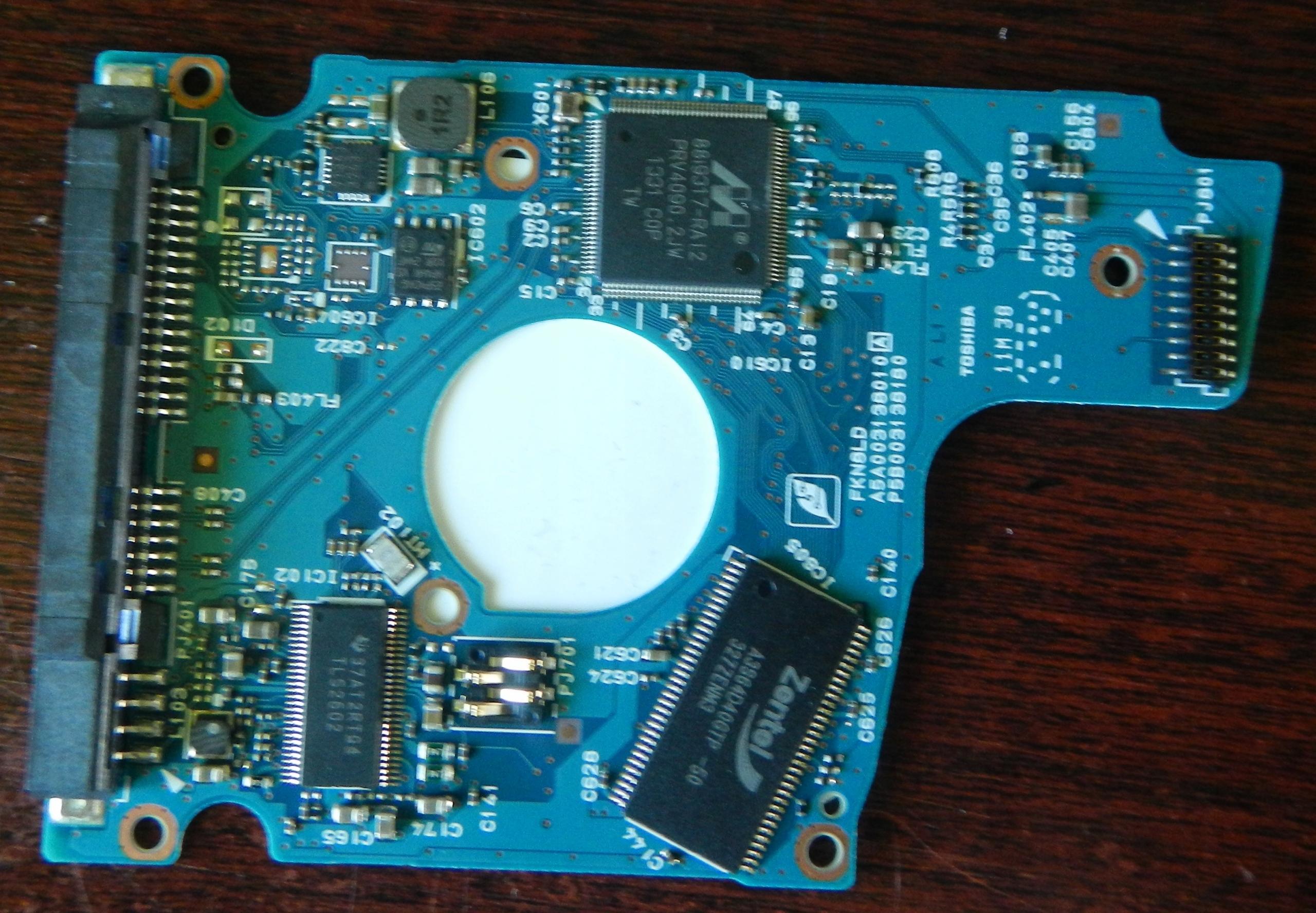 Elektronika dysku Toshiba 1 Tb MQ01ABD100
