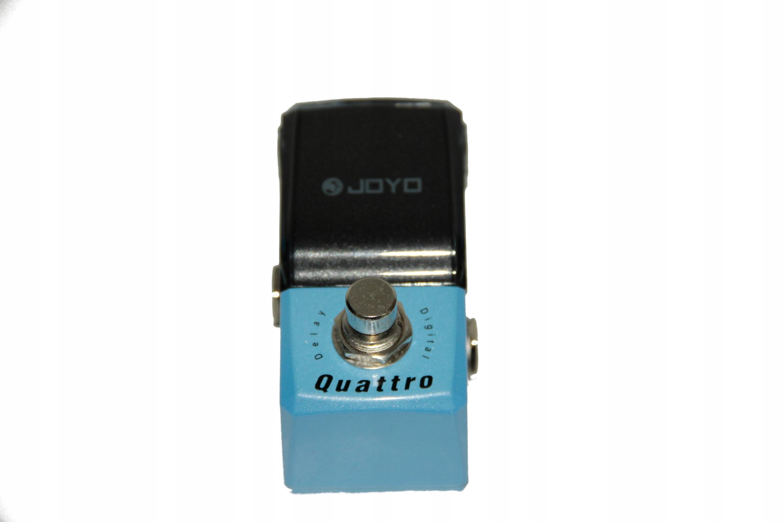 Joyo JF-318 Quattro Delay efekt gitarowy delay