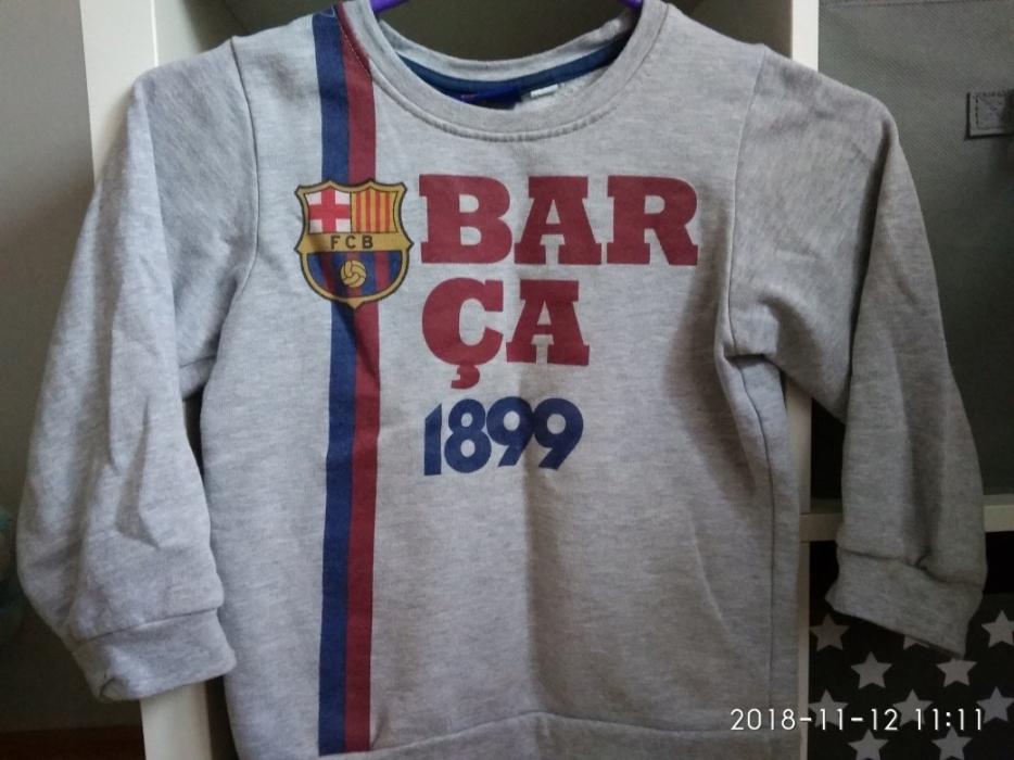 42503a8bd bluza FC Barcelona r.104/110 - 7742020636 - oficjalne archiwum allegro