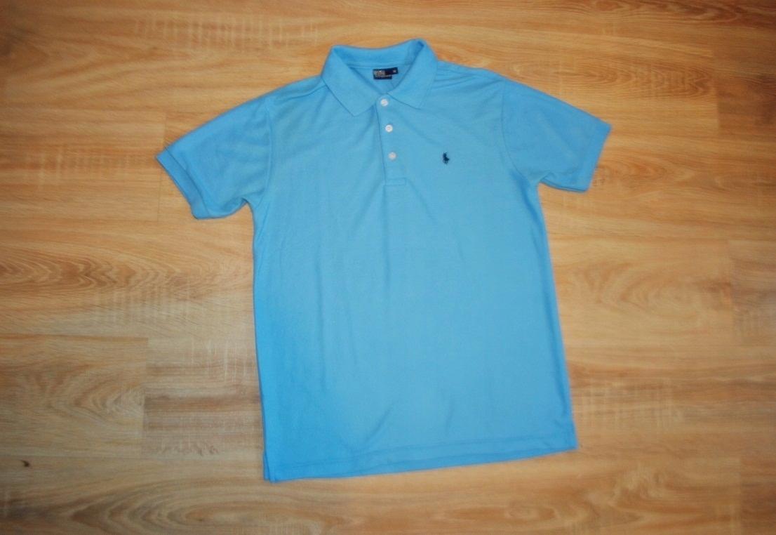 RALPH LAUEN markowa koszulka POLO LOGO r. M BDB
