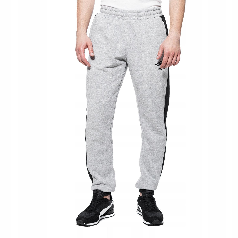 UMBRO (XL) CONTRAST PANEL FLEECE spodnie dresowe