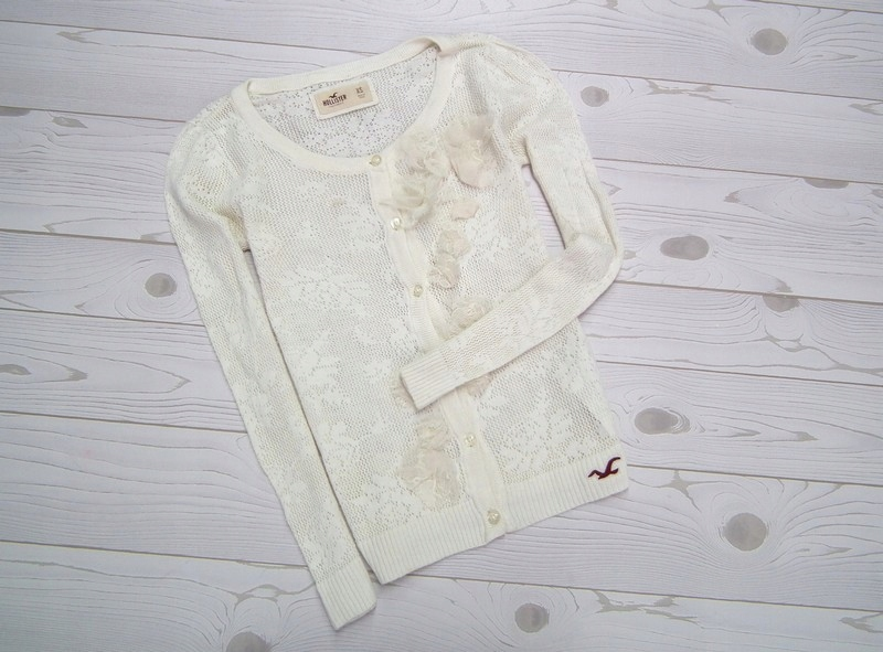 HOLLISTER ___ KORONKOWY SWETER __ LIMITED __ r. XS
