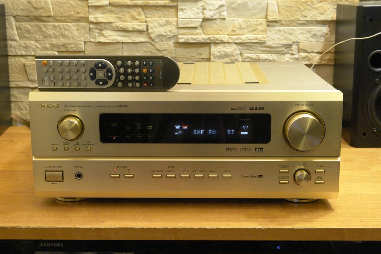 DENON AVR-2801 # GIGNTYCZNY JAPOŃSKI AMPLITUNER #