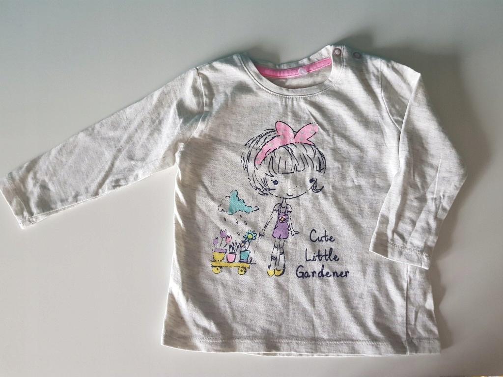 Koszulka dla dziewczynki 74cm CoolClub