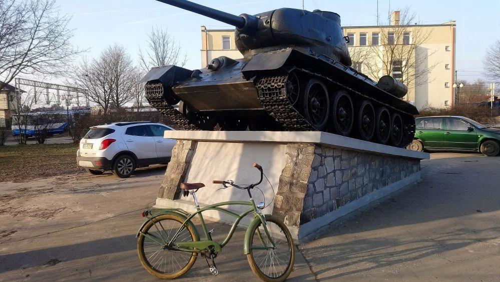 Rower miejski Cruiser Bike MBM nowy wojskowy 26