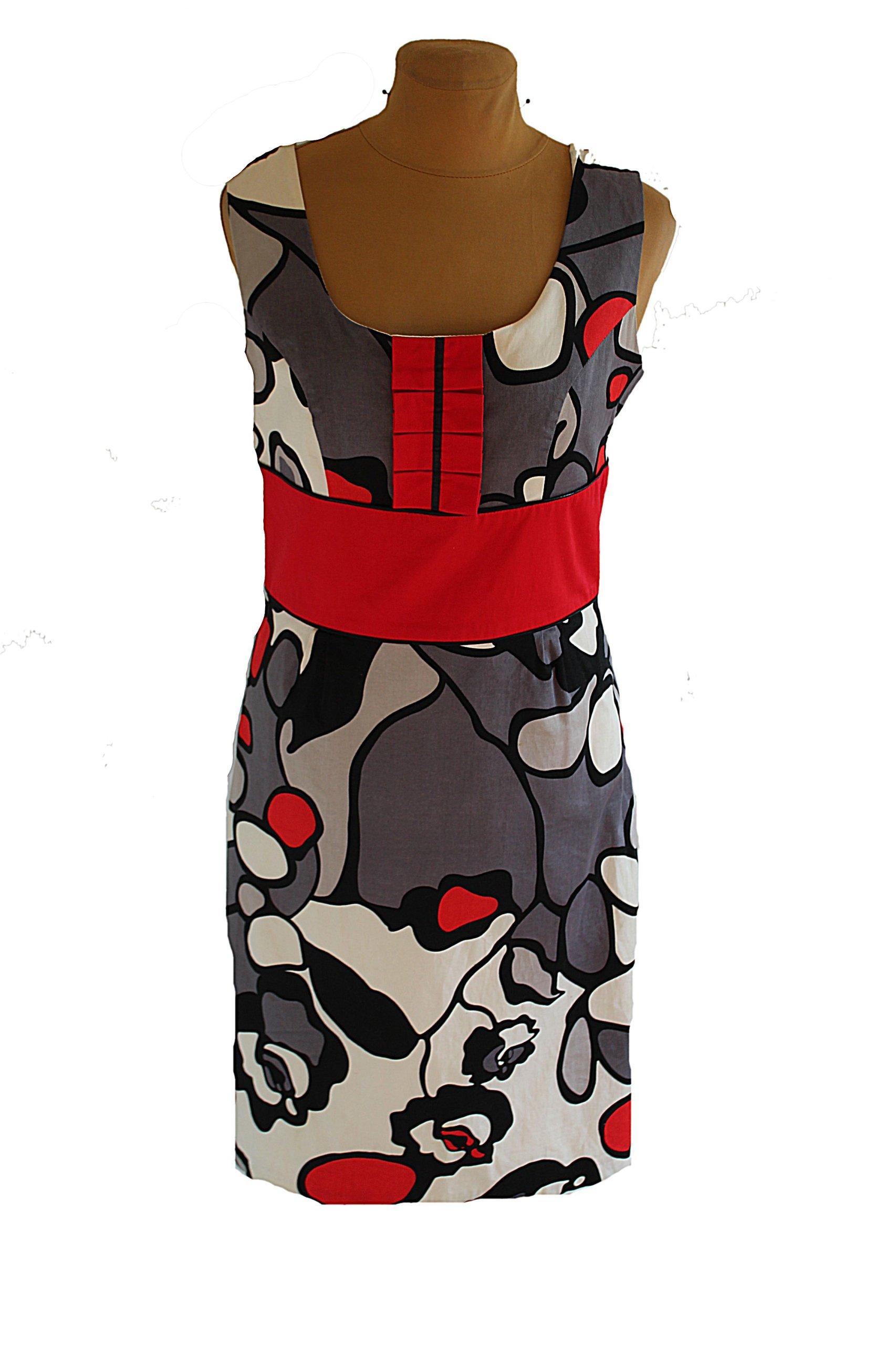 5c16a55dfd MODERN LINE-modna koktailowa sukienka 42 - 7233254712 - oficjalne ...