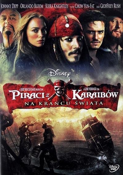 Piraci z Karaibów - Na krańcu świata DVD