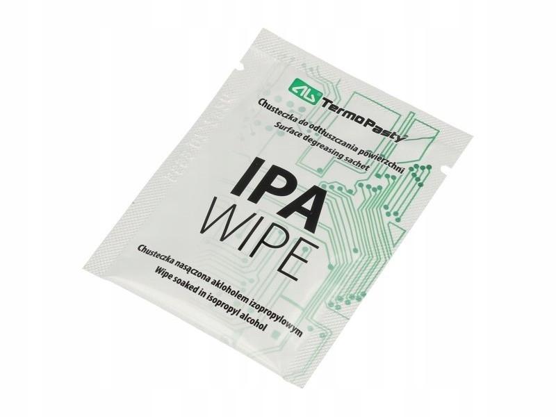Chusteczki do czyszczenia IPA Wipes ekrany, optyka