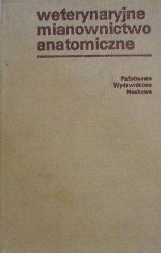 Weterynaryjne mianownictwo anatomiczne