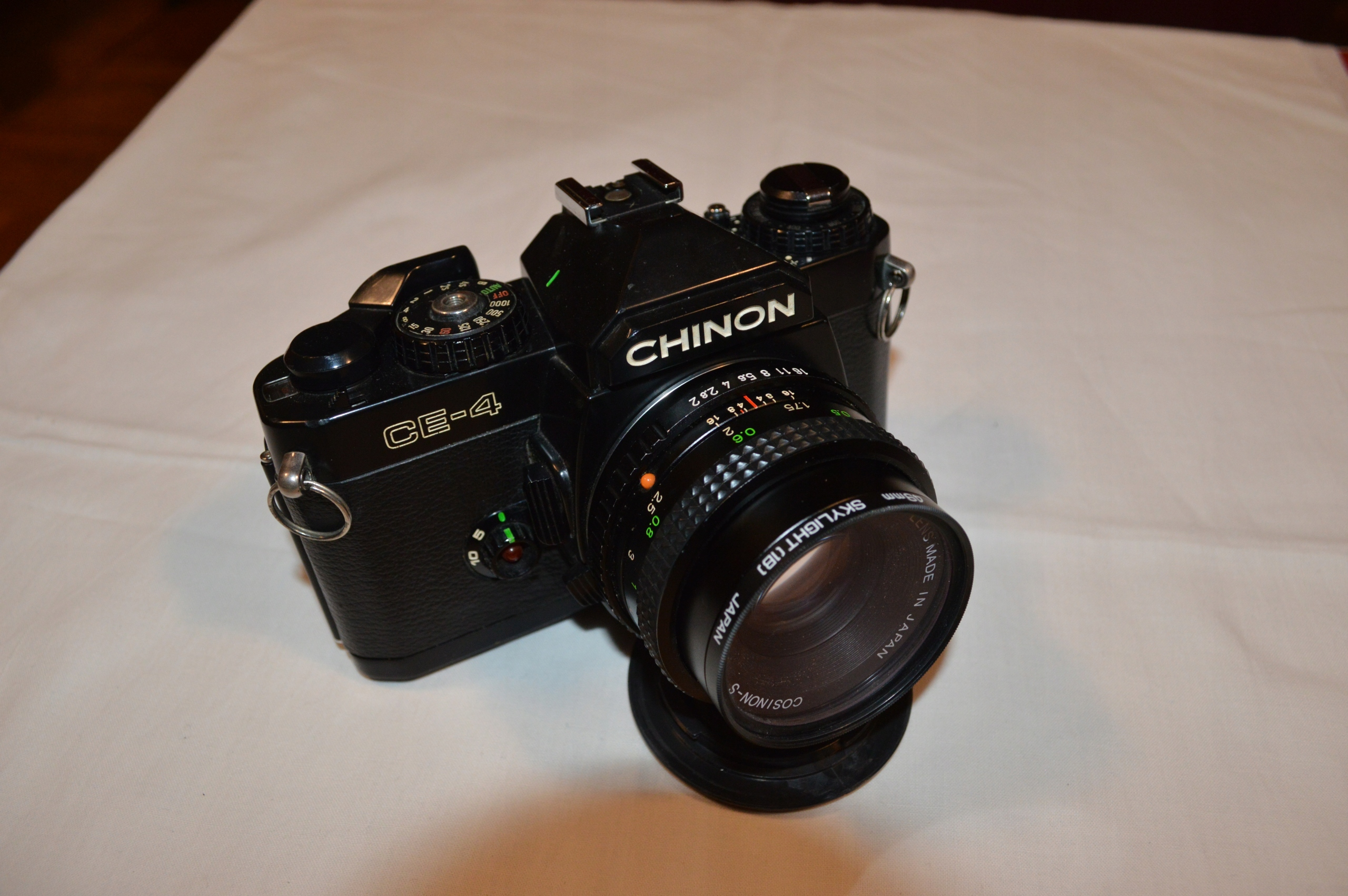 Chinon CE-4 + Cosinon-S 2/50