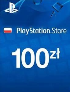 Kod Playstation Store o wartości 100zł (2x50zł)