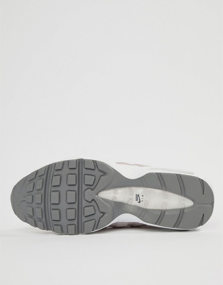 Buty Damskie Nike Air Max 95 Se Aq4129 600 Szare, NIKE AIR