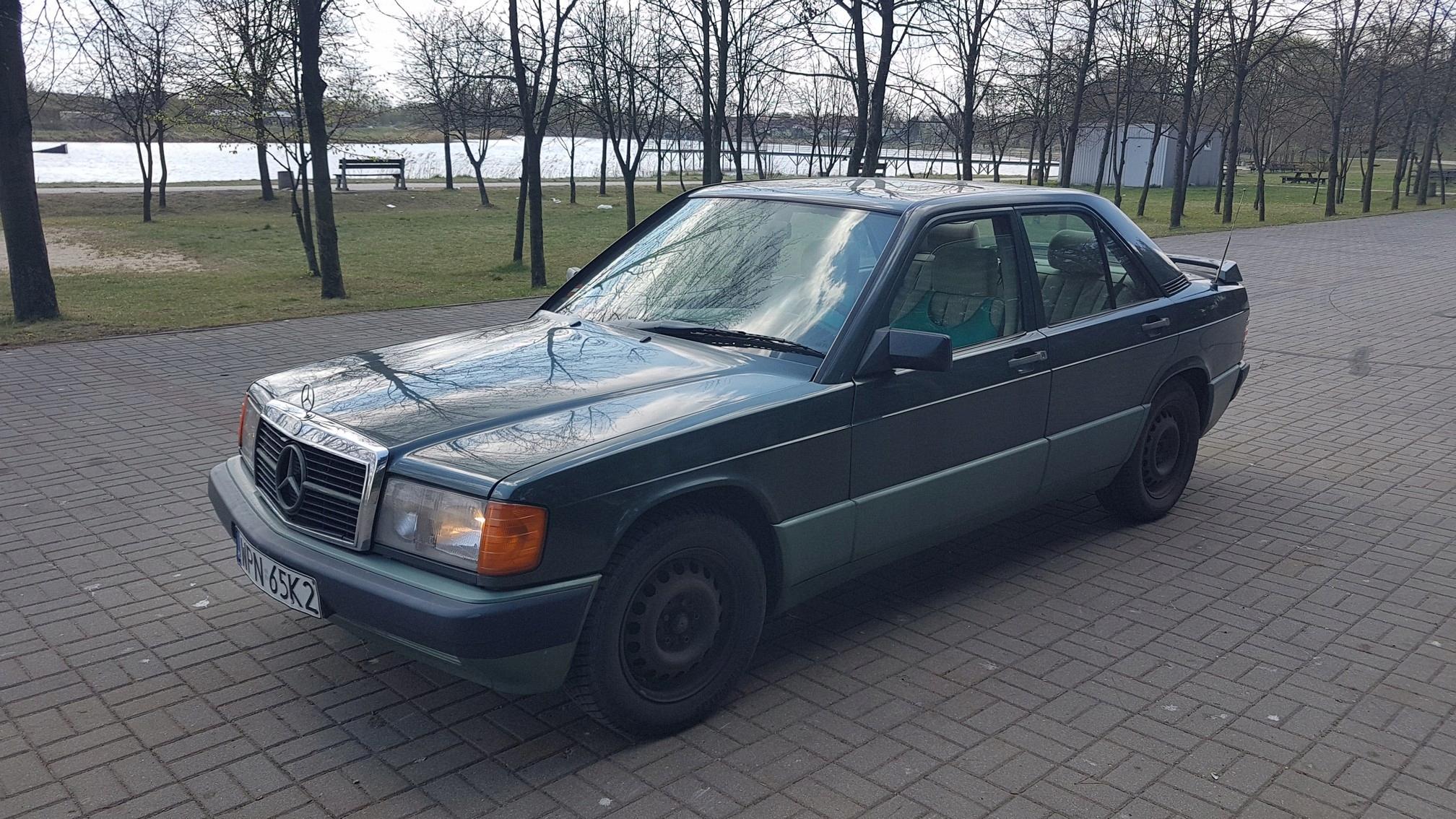 Mercedes 190 W201 1989 2.0 87 kW 118 KM