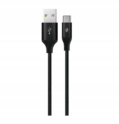Przewód funkcjonalny Alumicable XL 2m czarny USB-C