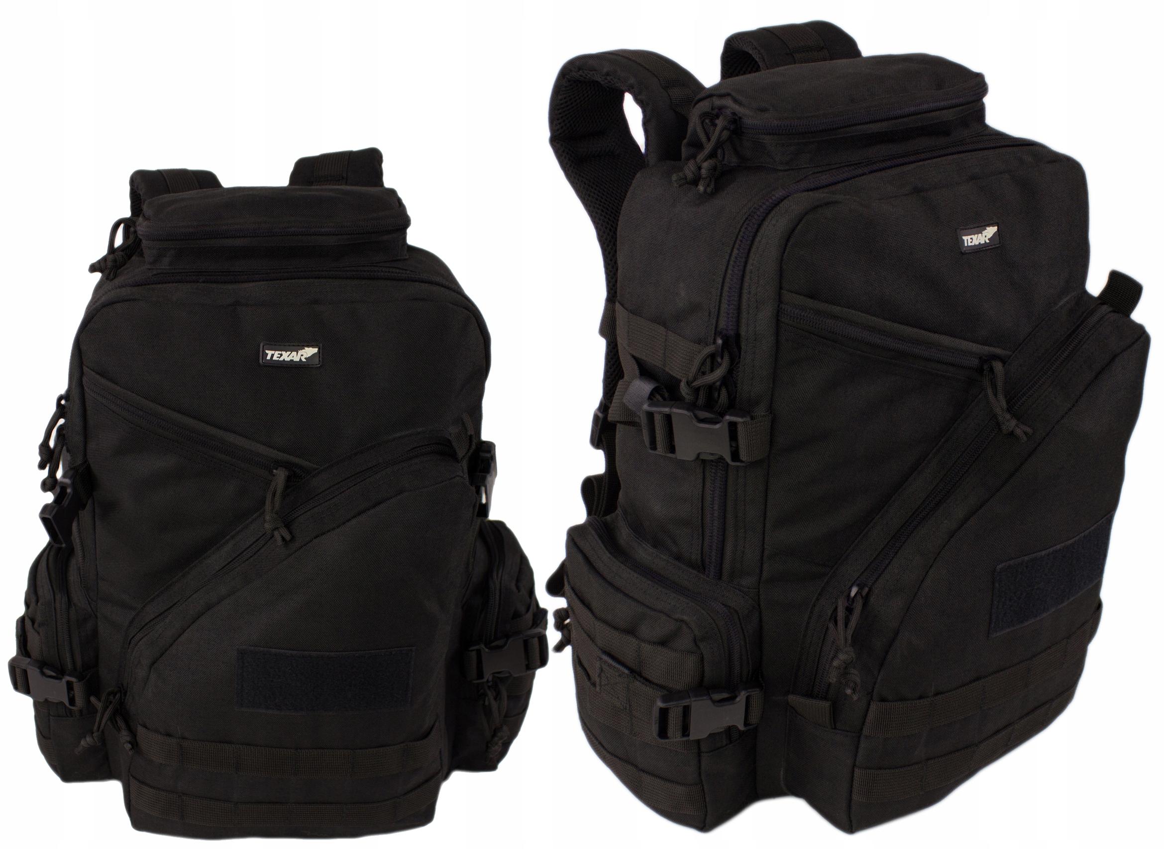 Górski Plecak Taktyczny Texar Urban Czarny 33L