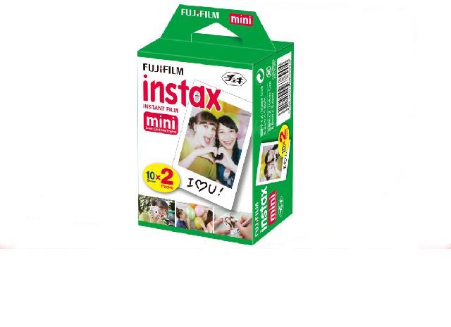 Fuji INSTAX mini Film dwupak 20 zdjęć ! 54x86mm