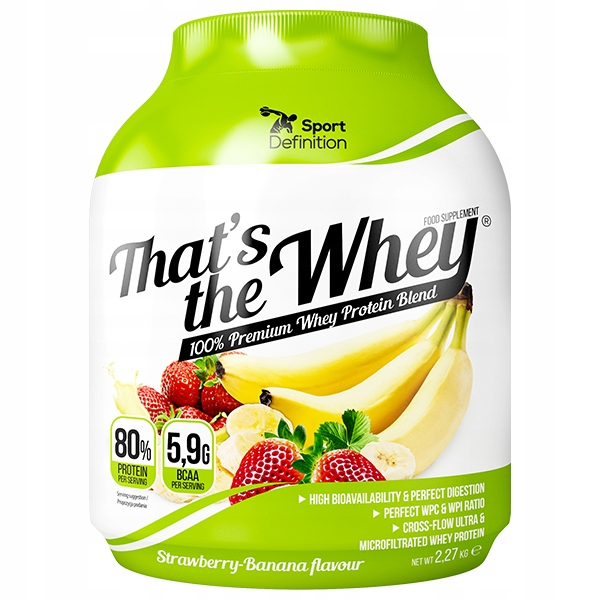 SPORT DEFINITION THAT'S THE WHEY 2270g 4xGRATIS
