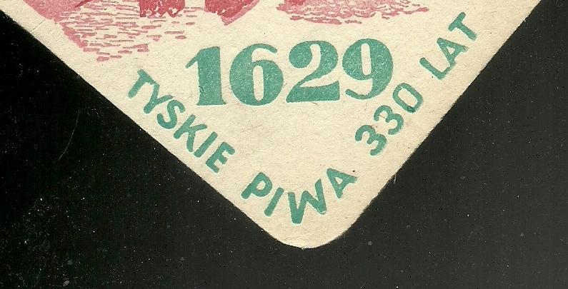 2 ) PODSTAWKI PODKŁADKI DEKIELKI / TYSKIE -- 1959