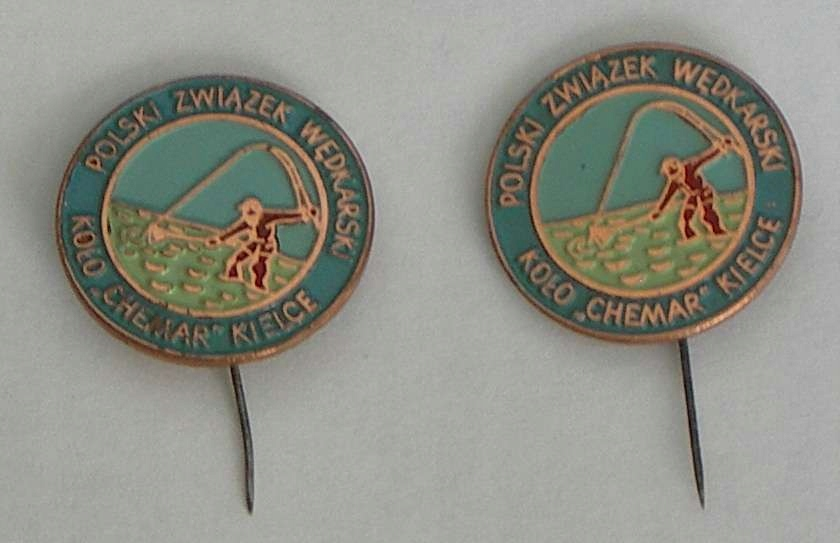 2 Odznaki Wędkarskie