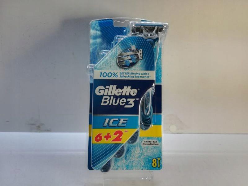 GILLETTE BLUE 3 8SZT ICE