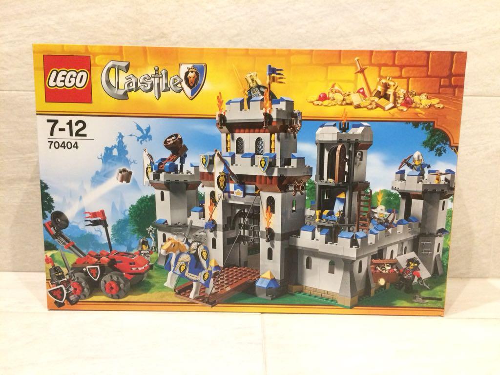 NOWE LEGO CASTLE 70404 ZAMEK KRÓLEWSKI