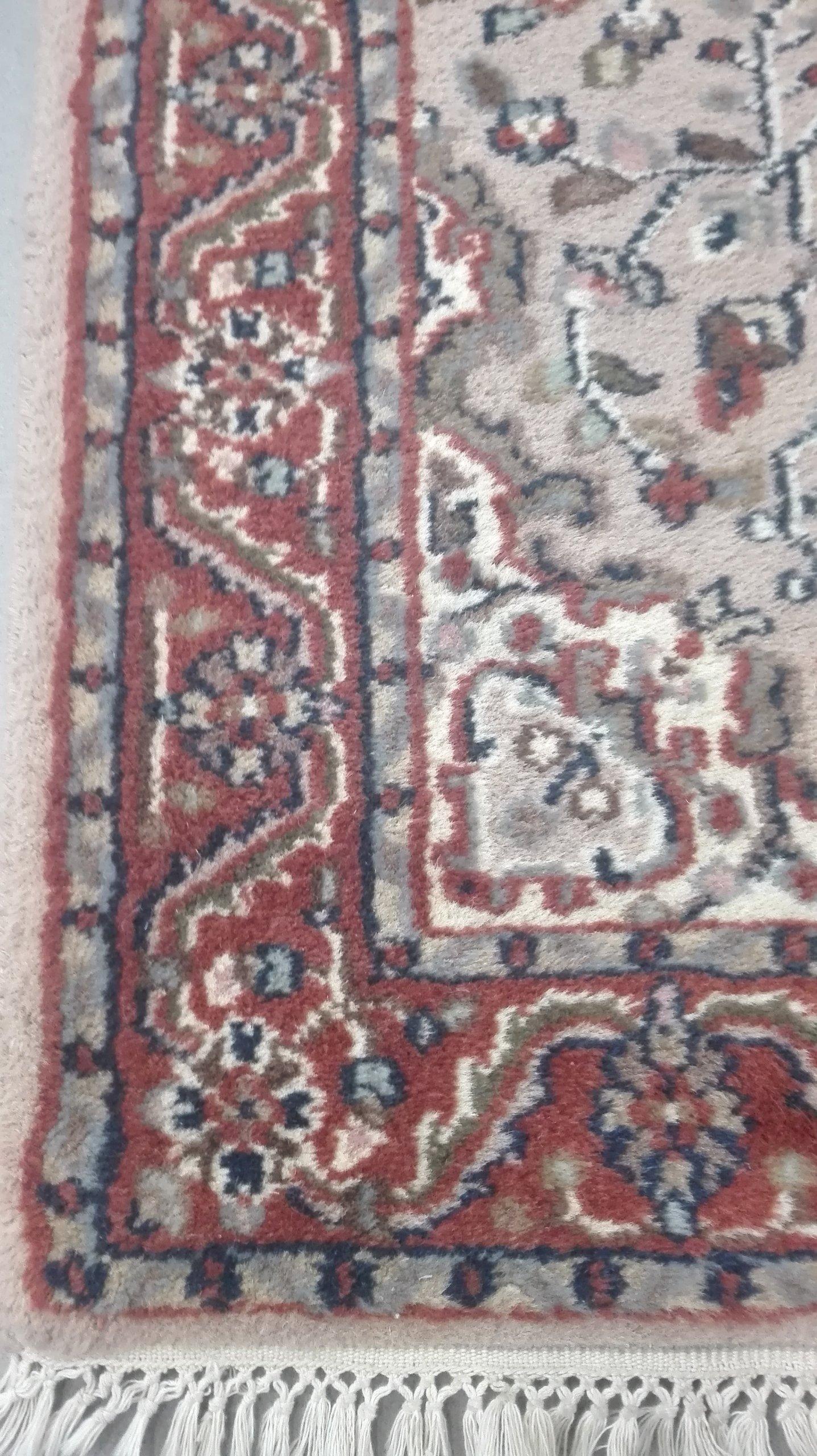 INDIE stary ręcznie tkany chodnik 150x72 CUDO sygn