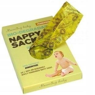 BEAMING BABY Biodegradowalne Zapachowe Worki na Zu