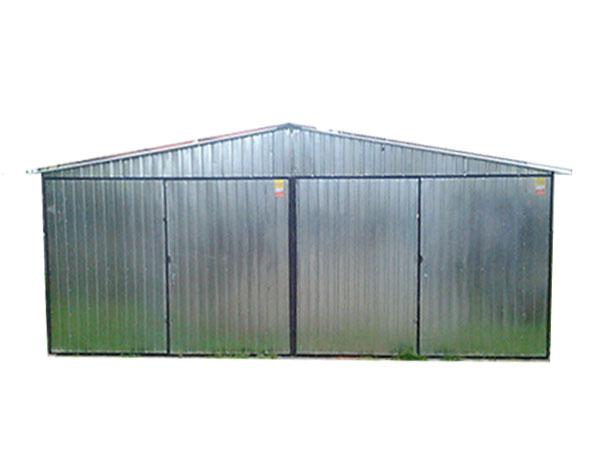 Garaże Blaszane Garaż Blaszany 6x6 Dach Dwuspadowy 5896204419