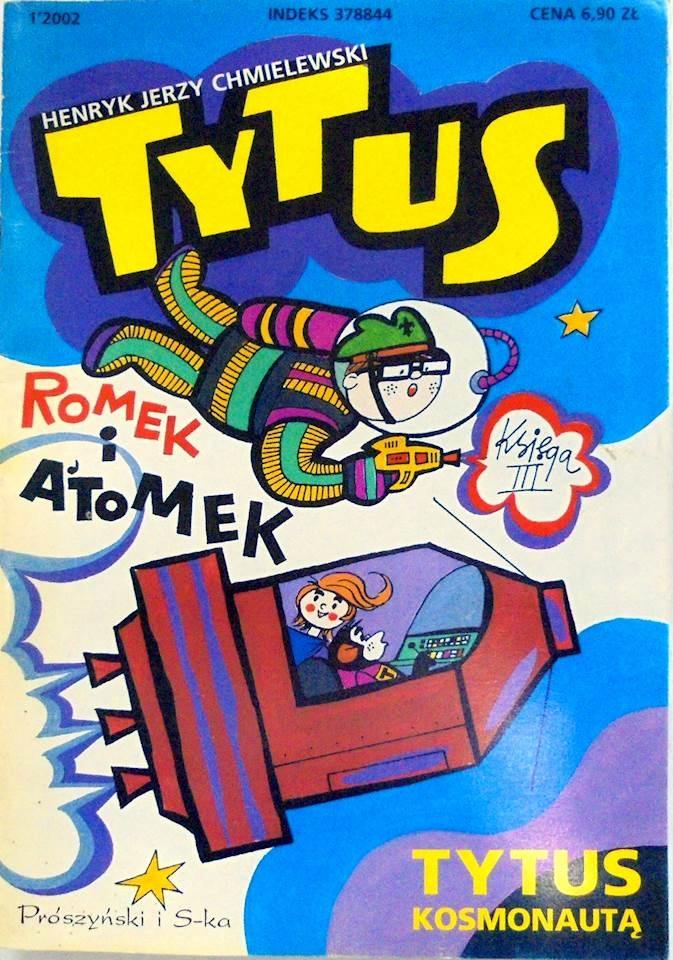 Tytus Romek i A'Tomek księga III - Chmielewski