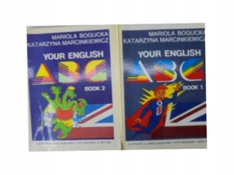 Your English ABC book 1,2 - M. Bogucka i in
