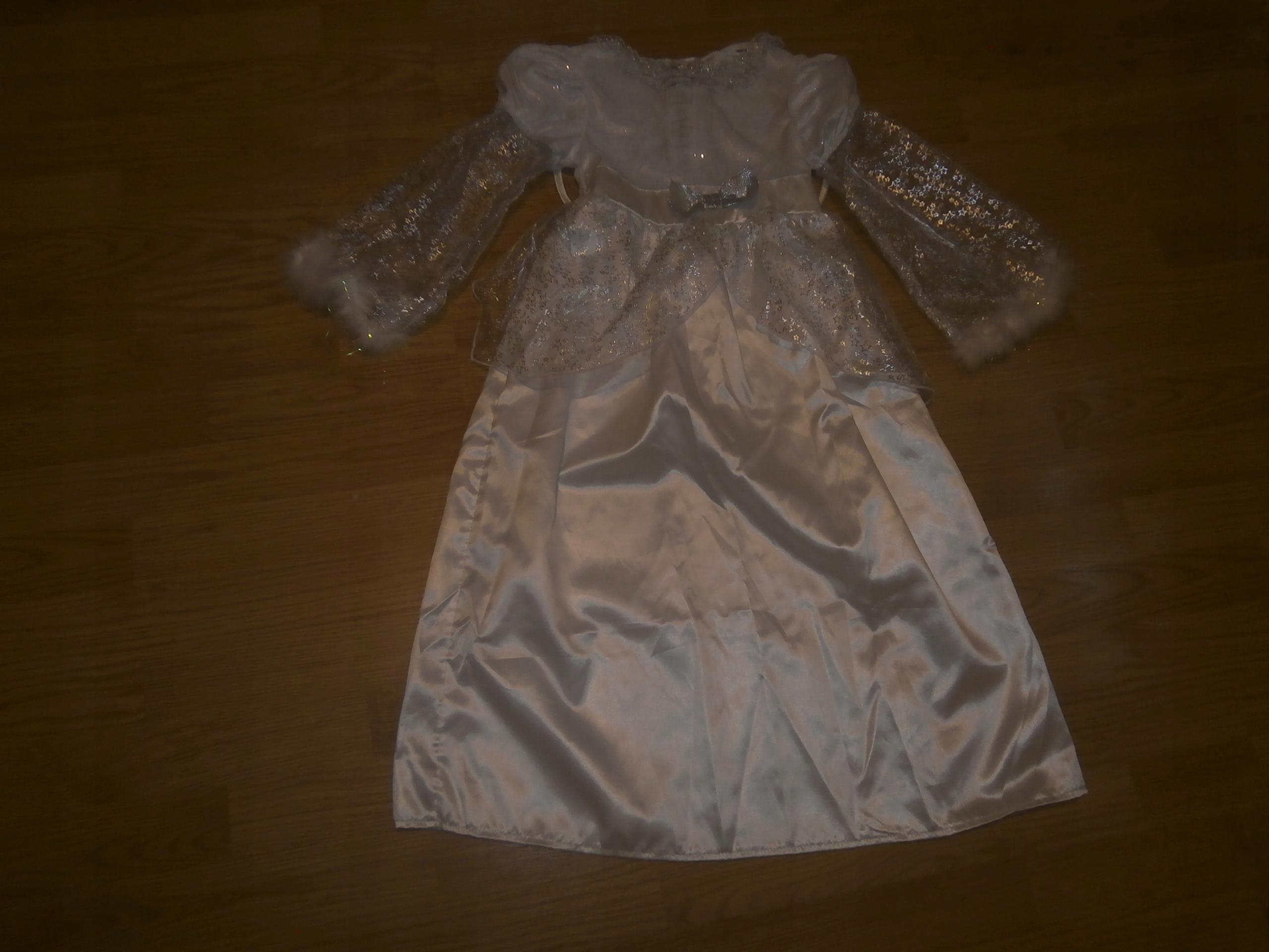 5bccb78a05 Suknia aniołka 6-8 lat- strój karnawałowy - 7637168801 - oficjalne ...
