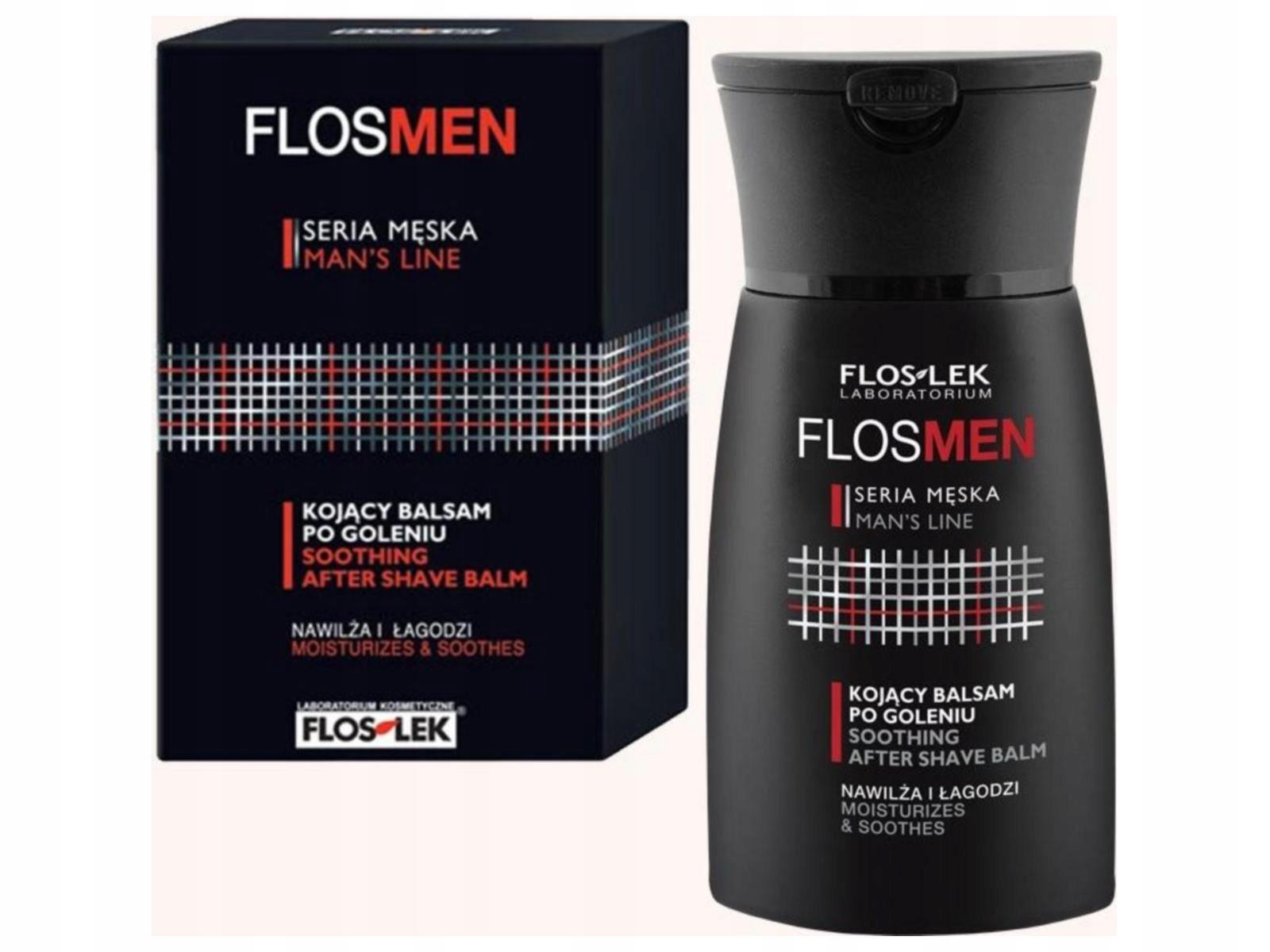Floslek FlosMen Kojący balsam po goleniu łagodzi