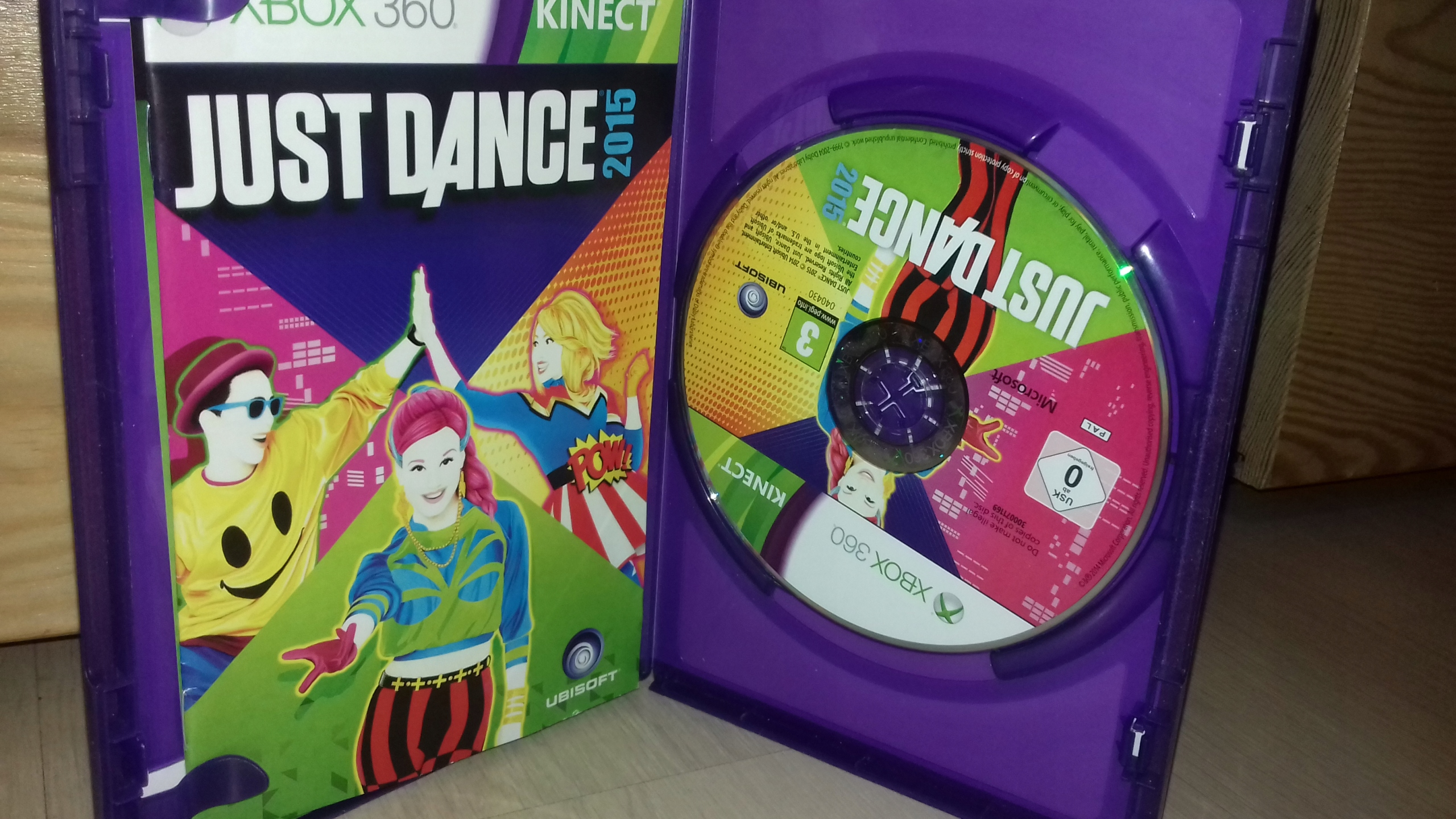 Gra xbox 360 Just dance 2015 kinect