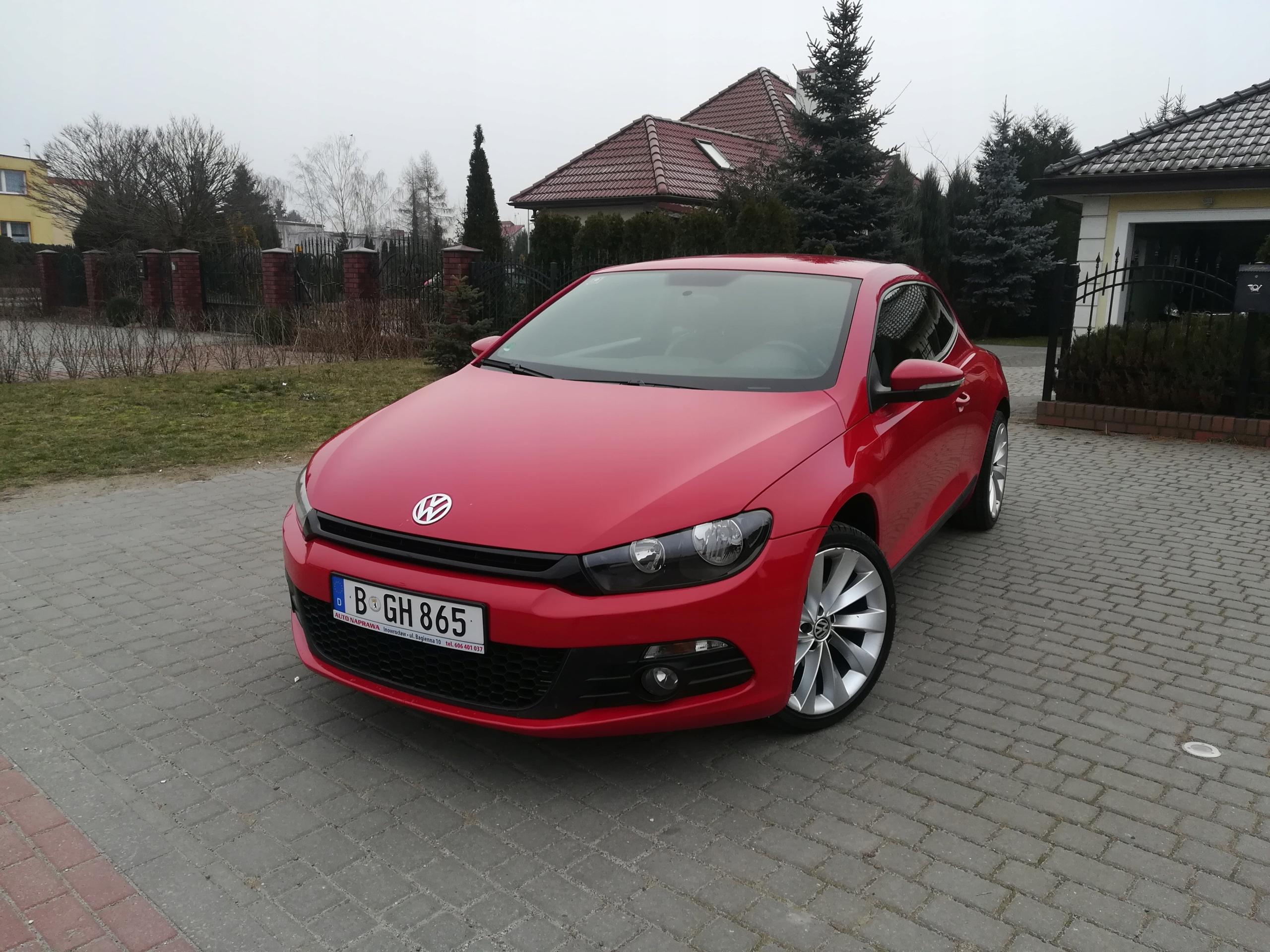 VW SCIROCCO 2009R.1.4/122KM! SERWIS! BEZWYPADEK!